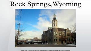 Rock Springs (WY) United States  City pictures : Rock Springs, Wyoming