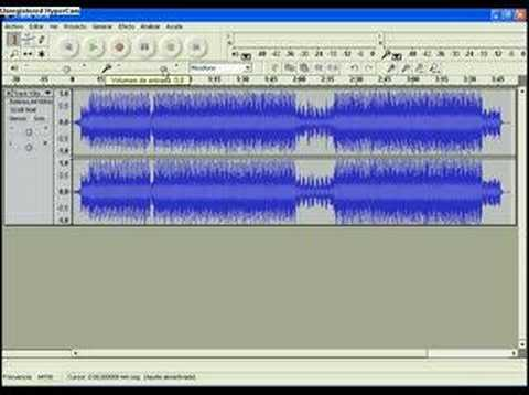 Video 2 de Audacity: Mezclar música con voz en Audacity