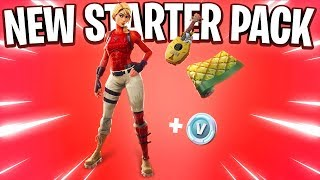 The New Fortnite STARTER PACK 6.. (Laguna Starter Pack)