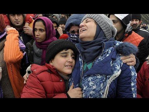 Μετανάστες προσπαθούν να περάσουν στα Σκόπια – Ένταση με την αστυνομία