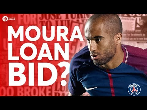 MOURA LOAN BID? Manchester United Transfer News Today! #4 (видео)