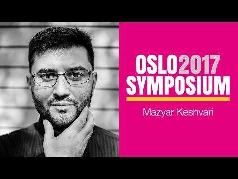 Mazyar Keshvaris tale på Oslo Symposium 2017