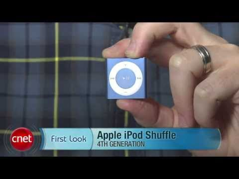 apple ipod - For the fourth-generation, Apple brought the iPod Shuffle's buttons back, along with a few extra features that make the lightest, smallest MP3 player on the ...