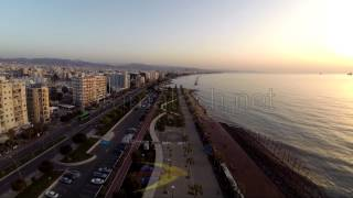 Limassol Cyprus  city pictures gallery : Cyprus Limassol promenade the whole distance 1 km by Cyprus from Above and Oramatech Services