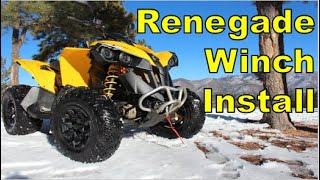 5. ATV Upgrades: How To Install Winch on Can Am Renegade (Every Step)