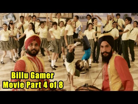Billu Gamer Movie Part 4 of 8 I Live VFx Bollywood Movie I Girls Teased I Live cum Animation Film