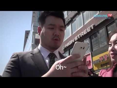Sokaktaki insanların Galaxy S6 ve S6 Edge'e tepkileri