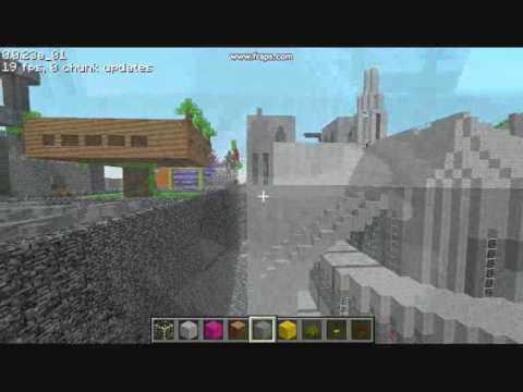Notre Dame in Minecraft