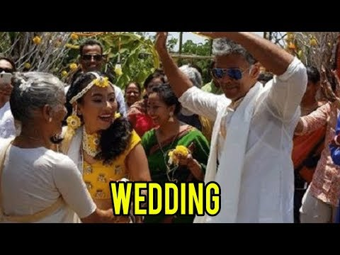 Milind Soman And Ankita Konwar Wedding In Alibaug