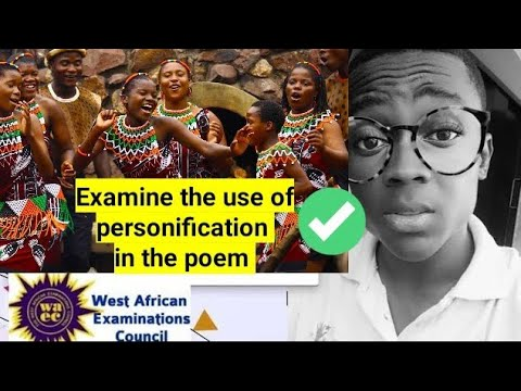the songs of the women of my land -oumar Farouk Sesay( the use of personification in the poem)