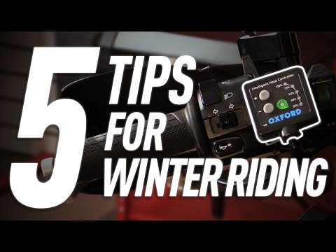 5 Accessories that make Winter Motorcycle Riding Fun | TwistedThrottle.com