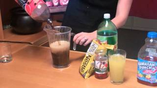 Easy Halloween Punch Recipe: Halloween Red Zombie Punch - YouTube