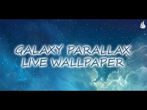 Video of Galaxy Parallax Live Wallpaper