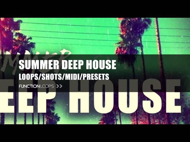Summer Deep House | Spinnin' Deep inspired Sample Pack | Deep House Samples, Loops, MIDI, Presets