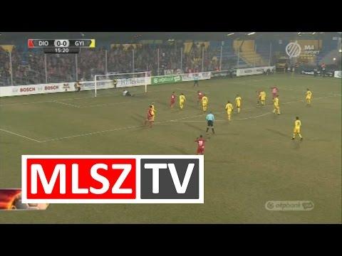 19. forduló: DVTK - Gyirmót 1-0 (1-0)