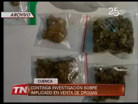 Continúa investigación sobre implicado en venta de drogas