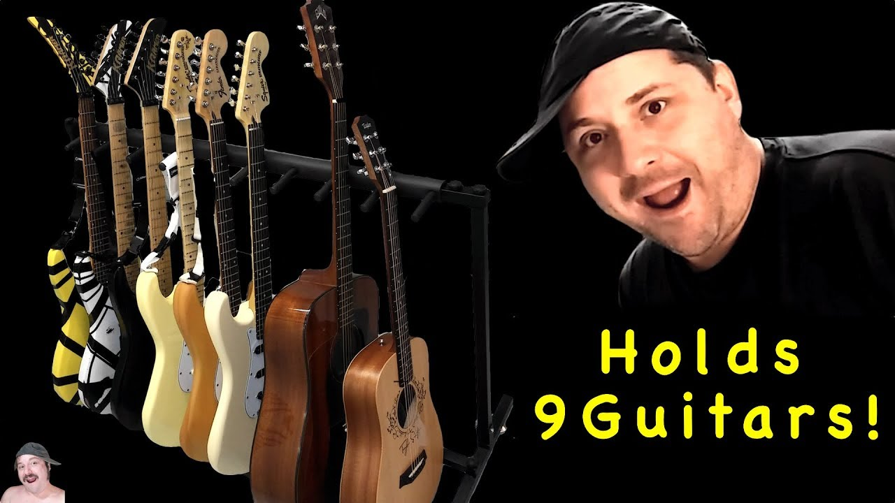 9 Guitar Stand Assembly