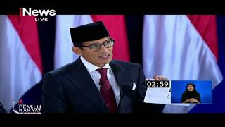 Video TPS (Tusuk Prabowo-Sandi) Jadi Jargon Penutup Debat Terakhir - Pemilu Rakyat 13/04 MP3, 3GP, MP4, WEBM, AVI, FLV April 2019