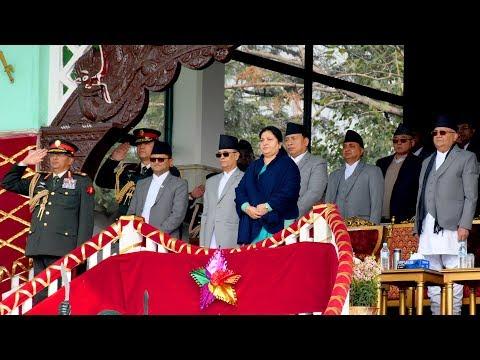 (६९औं प्रजातन्त्र दिवस, नकारात्मक गतिविधि गर्ने विरुद्ध सरकार कडाइका साथ प्रस्तुत हुन्छ:प्रधा...)