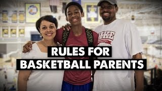 "Pure Sweat ""Rules for Basketball Parents"""