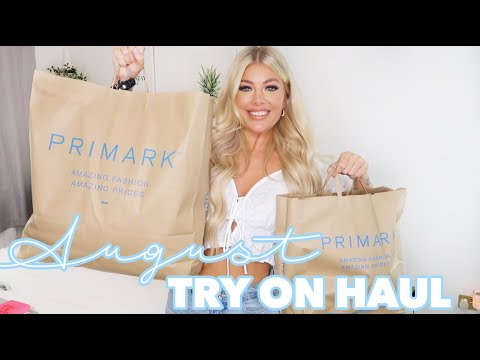 HUGE TRY ON PRIMARK HAUL AUGUST 2020, NEW IN PRIMARK | AMY COOMBES