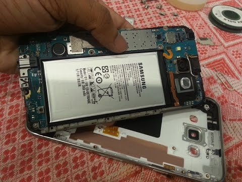Samsung E7 Disassembly