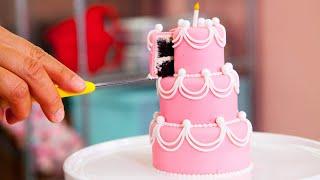 Video How To Make Five MINIATURE CAKES   PERFECT Beginner Fondant Cake   Yolanda Gampp   How To Cake It MP3, 3GP, MP4, WEBM, AVI, FLV Juni 2018