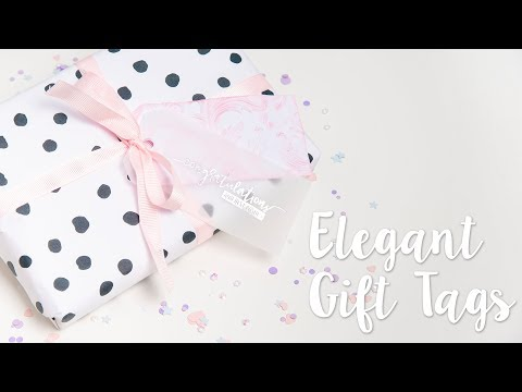 Elegant Gift Wrapping - Sizzix