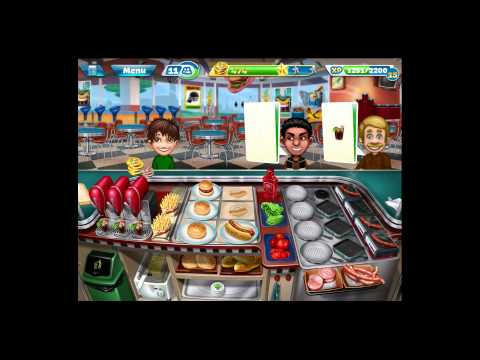 Cooking Fever [iPad Gameplay] Level 34