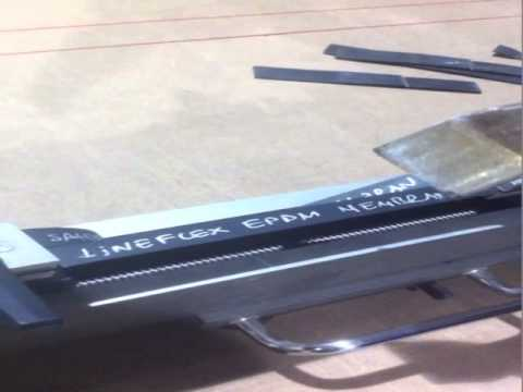 Lineflex EPDM Membran & Fake EPDM Membran Test