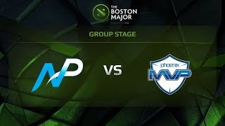 Team NP vs MVP Phoenix, Game 3, Group B - The Boston Major