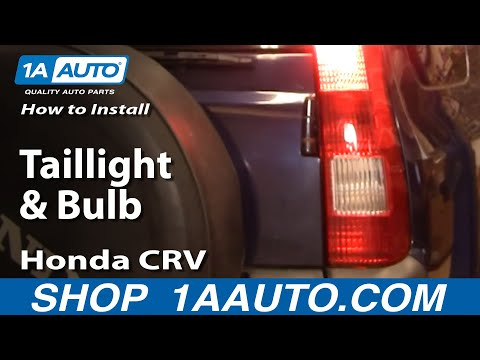 How To Install Replace Taillight and Bulb Honda CR-V 02-04 1AAuto.com