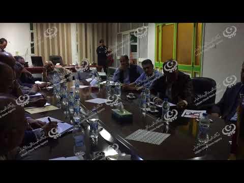 وزير التعليم يجتمع بمسؤولي القطاع في طبرق