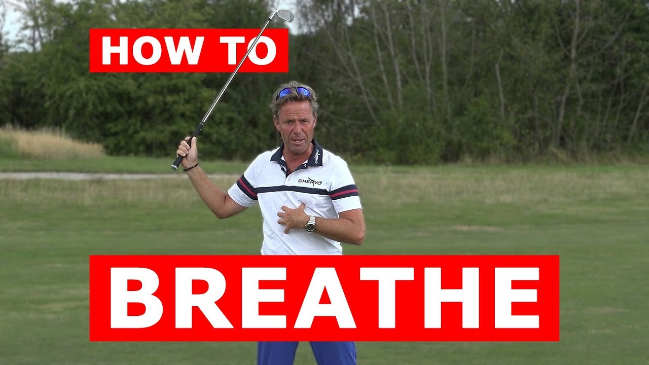 Control your breathing to improve your game of golf