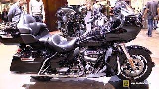 7. 2018 Harley Davidson Road Glide Ultra - Walkaround - 2017 EICMA Milan Motorcycle Exhibition