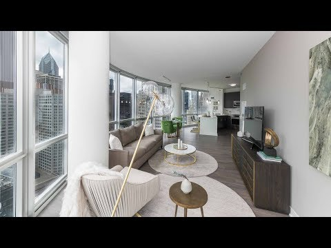A 2-bedroom, 2-bath model at Streeterville's new 465 North Park