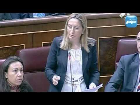 Ana Pastor reprocha al ministro de Industria no haber promocionado el Camino de Santiago aprovechando la Presidencia de la UE