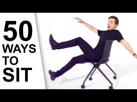 50 Ways to Sit