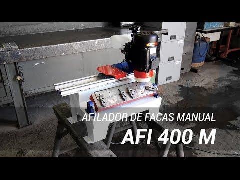 Afiador de facas industrial AFI 400 M - Lippel