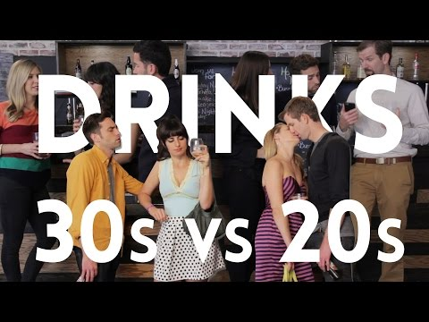 Drinking in your 20's vs. Drinking in your 30's