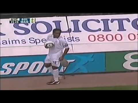 Jay Jay Okocha vs Manchester United - 2004 - (Home)