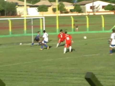 Itaporã F. C. 6 x 1 Seleção de Sidrolândia - Inauguração do Campo Municipal - golaço de falta