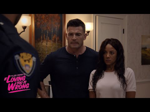 The Police Question Brad and Marcie | Tyler Perry's If Loving You Is Wrong | Oprah Winfrey Network