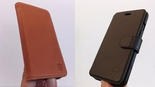 iPhone 7 Cases Collection by SHIELDON  with Genuine Leather (%20 off coupon)