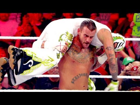 CM Punk Vs. Rey Mysterio: Raw, August 6, 2012