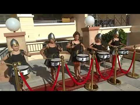 "коллектив ""Dance&Drums"" клуба ""Kinderland"". остров Тенерифе"