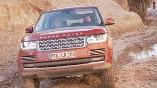 ► 2013 Range Rover Test Drive On The Rock [HD]
