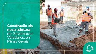 Construção da nova adutora de Governador Valadares (MG)