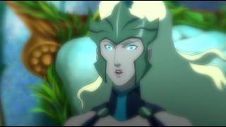 Justice League Throne of Atlantis: Power of The Queen Clip