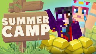 MINECRAFT SUMMER CAMP! No Gold Amy!
